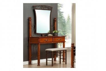 Будуарный столик+ зеркало + пуф Баварія