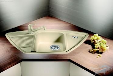 Кухонна мийка кутова Blanco CLASSIC 9 E
