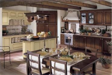 Кухня Rialto - масив берези (Італія)