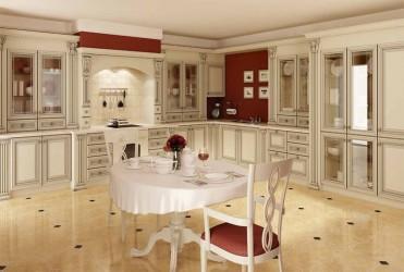 Кухня Puccini - массив ольхи (Польша)