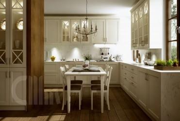 Кухня Chopin - массив черешни (Польша)